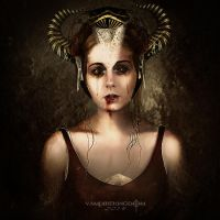 Goddess of Hell by vampirekingdom