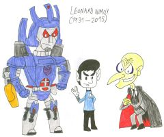 Toons Live Long and Prosper by SithVampireMaster27