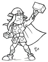 The Mighty Thor by ImNO