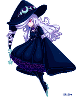 Midnight Witch by Kofwea