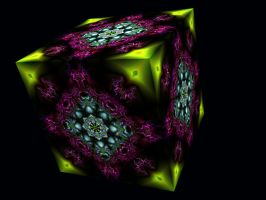 Fractal Cube III by unicorngraphics
