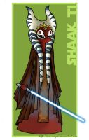 Shaak Ti by ava-angel
