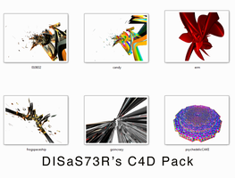 DISaS73R's C4D Pack by DISaS73R