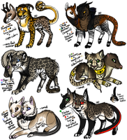 Sadbloom Chimera Batch 1/2 - [CLOSED] by MelSebeon