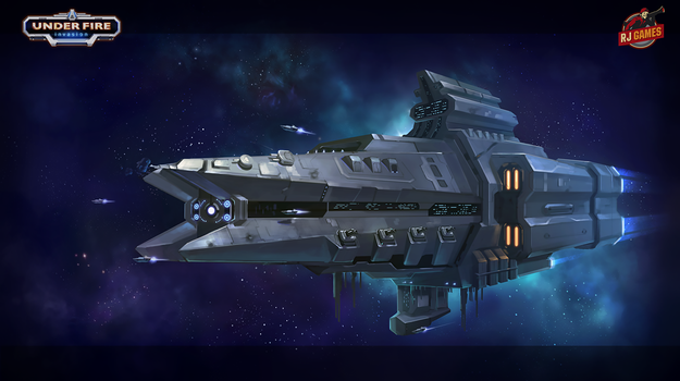 Mission Art Space Ship by enterry