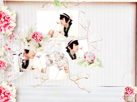 [ My Second Wallpaper ] Flower Prince - Hyunseung by YongYoMin
