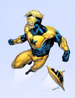 Booster Gold by spidermanfan2099