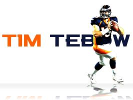 Tim Tebow Background by cotrackguy