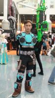 C.O.G. Soldier from Gears of War game at AX 2013 by trivto