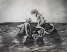 creatures from the sea by Matylly