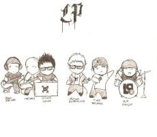 OmG linkin park CHIBI by biggermoose