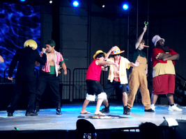 One Piece Stage Time by Spilled-Sunlight