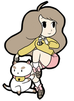 Bee and Puppycat by PrettyPumpkinhead