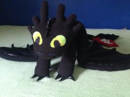 Toothless - Handmade by Najro