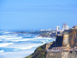 Entering San Juan Puerto Rico by Roses-to-Ashes