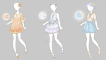 .:Outfit Adopts 1:. by Crystallyna
