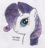 Rarity (color) by Mane-Shaker