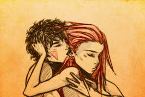Kissed by fire by darthmadigan