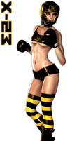 Laura's Punch Out by Idelacio