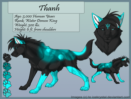 Thanh Water Demon Wolf by LotusKoi