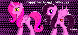 happy hearts and hooves day by shadowandtwilight