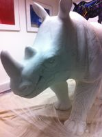 Teaser: Erica The Rhino by C-CLANCY