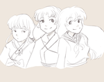 Ladies of Inuyasha by Fumichun