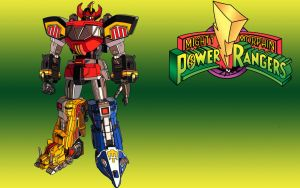 Mighty Morphin Power Rangers Megazord by LegendarySuperman