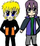Paul And Naruto Chibis:3 by Fran48