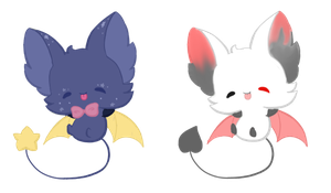 Chibi Bat Auction CLOSED by Russet-Adopts