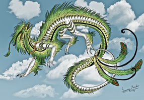 a dragons dance by Sunima