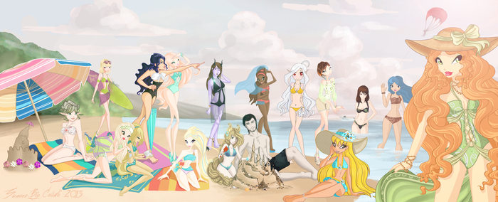 Summer Sun 2013. Big Collab. by JawitReen