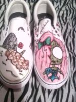 Zombie Shoes by Reekaann