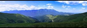 Panoramic mountains by Valentin-Stanciu