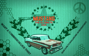 Mustang - The ultimate car! (Test) by skellerone