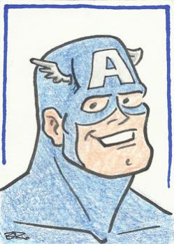 Captain America by BudRogers