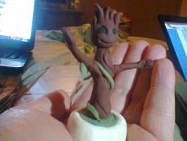 Baby Groot. by VannahChelle