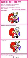 Kiss meme: Knuckles x Rouge by alexiaNBC