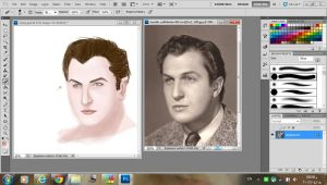 Vincent Price Portrait - screenshot by GreenishQ8