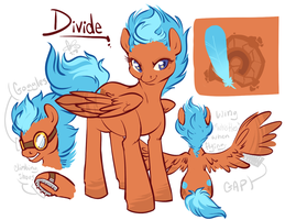Divide Pony Concept by CloverCoin
