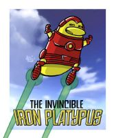 The Invincible Iron Platypus by thetoonguy
