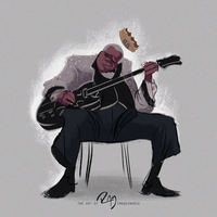 B.B. King by Ram-Imaquinario
