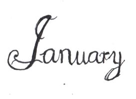 January by sKyAnGeLuS