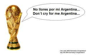 Dont cry for me Argentina by AJcosmo