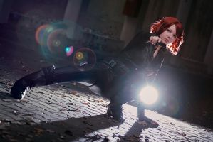 Black Widow #3 by snowfoxes