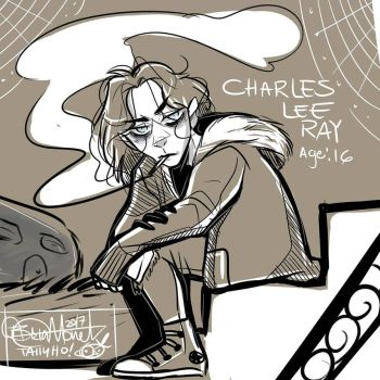 Charles Lee Ray-age 16 by CharlotteRay