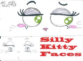silly Kitty cat faces copy by Kittychan2005