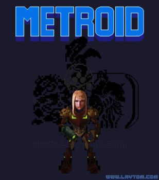 Metroid 25th -WIP- by tomgiest