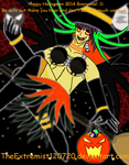 Anime Halloween Vampire Witch Girl!  by TheExtremist120720