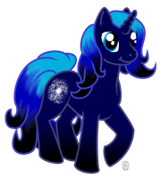 My Official Ponysona- Genesis by AnScathMarcach